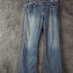 BKE star low rise bootcut jeans size 26